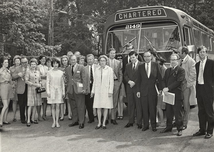 Realtor Bus Tour 1970s