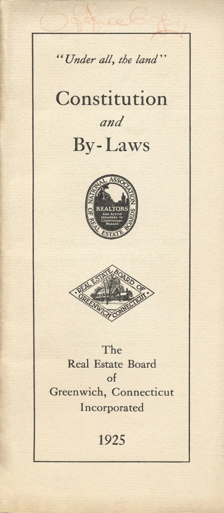 Constitution And By Laws 1925
